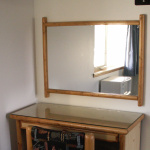 Writing Desk and Mirror